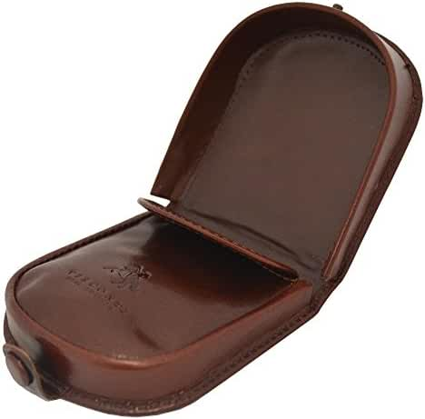 Visconti TRY-5 Smooth Soft Leather Coin Purse Pouch Tray/Money Change Holder