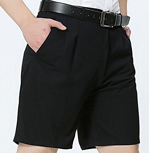 d4bd0d7e11a Jofemuho Men s Loose Mid Rise Casual Straight Leg Cotton Pure Color Shorts  at Amazon Men s Clothing store