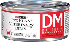 Purina Veterinary Diets Feline DM Dietetic Management Canned Cat Food 24 5.5-oz cans by Purina [Pet Supplies] by Veterinary Diets