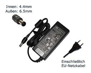 "Fuente de alimentación para Sony Vaio PCG-9G5M PCG-9W4M PCG-9W6M PCG-9X3M PCG-9Z1M cargador LCDs, cargador, Adaptador de CA, de alimentación (12 meses de garantía, compatible-cable) - ""de alimentación"" europeo"