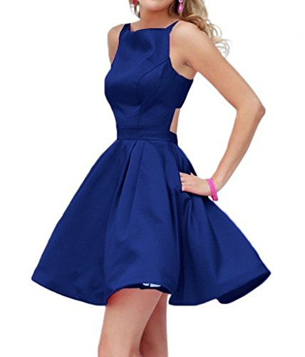 Winnie Bride 2016 Hot Homecoming Graduation Dress for Juniors Short Prom Gown-4-Royal Blue stock