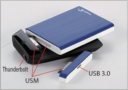 Seagate GoFlex FreeAgent USB 3,0 adaptador para 2,5 Seagate Back ...