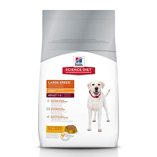 Dog Food Amp Treats Hill S Science Diet Adult Light Large