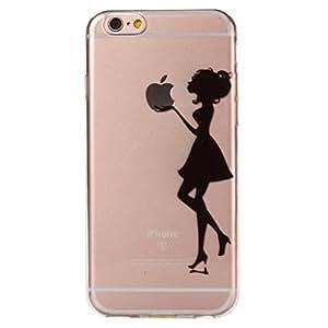 """Carcasa Para iPhone 6 Plus / 6S Plus Case , YIGA Transparente 3D TPU Piel Gel Cubierta De Silicona Suave Funda Tapa Para Apple iPhone 6 Plus / 6S Plus 5.5"""""""