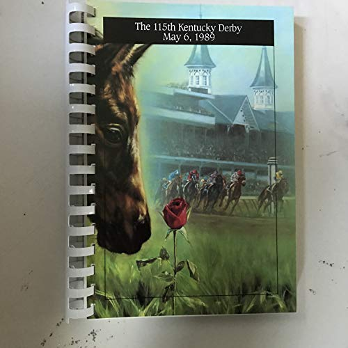 - 115th Kentucky Derby Press Guide, Churchill Downs, Saturday, May 6, 1989