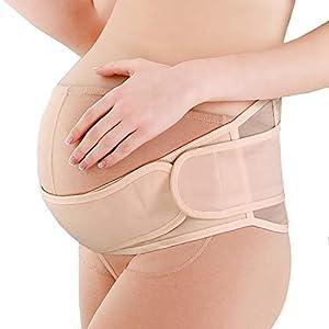 Bozaap Maternity Belt Support,Breathable Prenatal Belt Abdominal Holder Stomach Lift Belt,Pregnancy Support for Back…