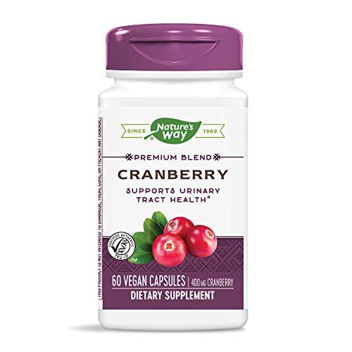 Nature's Way Cranberry Veg-Capsules, 60-Count