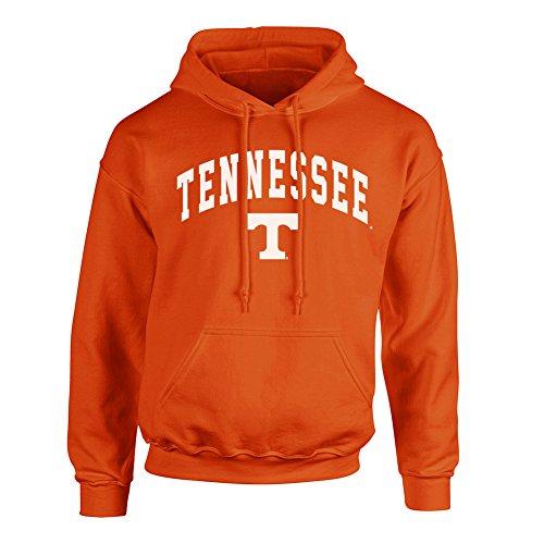 (Elite Fan Shop NCAA Men's Tennessee Volunteers Hoodie Sweatshirt Team Color Arch Tennessee Volunteers Orange X Large)