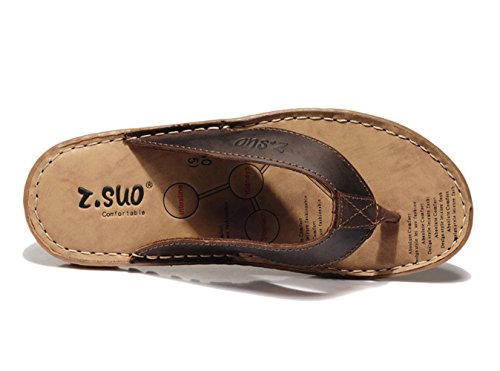 Sandal Thong Leather C Stitch Men's Flip DQQ Flop wxgY4qUY