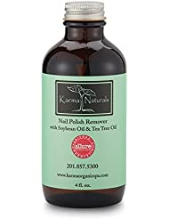 Karma Naturals Nail Polish Remover with Soybean Oil...