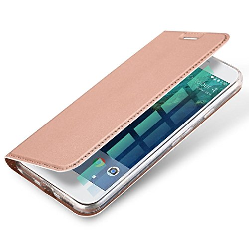 Price comparison product image GBSELL Ultra Slim Layered Leather Flip Case For Google Pixel 5.0 inch (Rose Gold)
