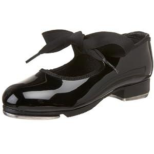 Capezio Youth Tyette Tap Shoe, Patent-10 M Tod
