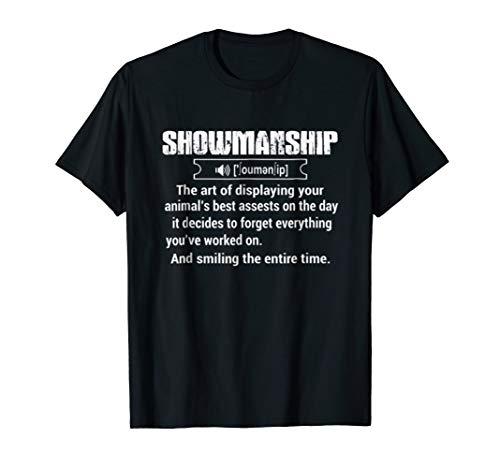 Showmanship Tshirt