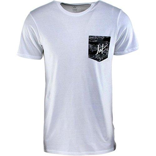 White Tiger Camo (HUF Tiger Camo Script Pocket Tee (white))