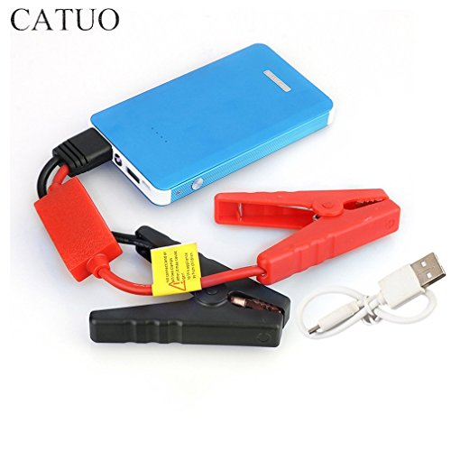 8000mAh Mini Portable Car Jump Starter Battery Charger Power Bank Booster