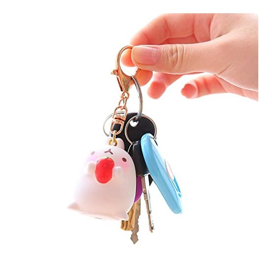 Molang Keychain | 3 Pack | Kawaii Keychains 3