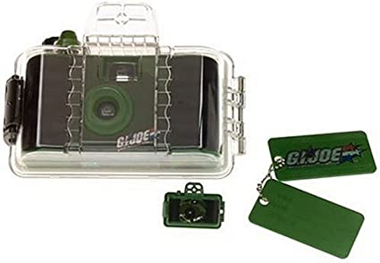 Recon Camera Kit with Film and Dog Tags Sapphire Imaging GI Joe vs Cobra