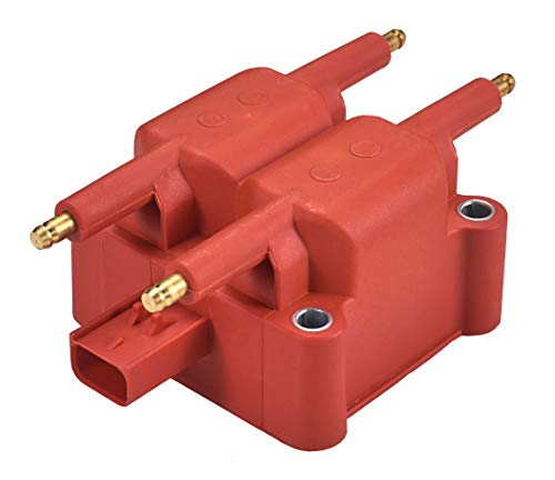 Super High Energy Ignition Coil Pack for 1995-2010 Chrysler Dodge Jeep Mitsubishi Plymouth L4 V10 8.0L 8.3L Dodge Stratus Ignition Coil
