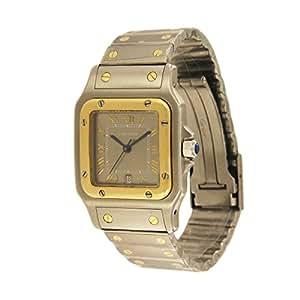 Cartier Santos Galbee swiss-quartz mens Watch 1566 (Certified Pre-owned)
