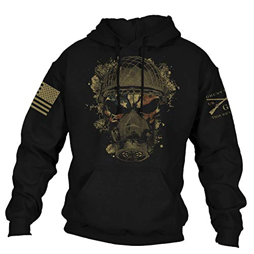 Grunt Style Chemical Reaper 2.0 Men's Hoodie, Color Black, Size Large