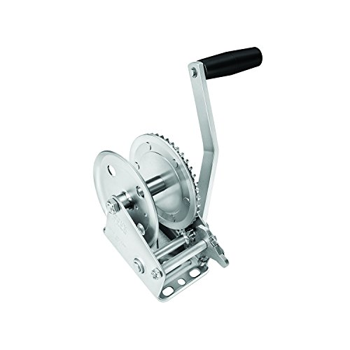 Fulton 142200 Single Speed Winch - 1500 lbs. Capacity, 1 Pack by Fulton