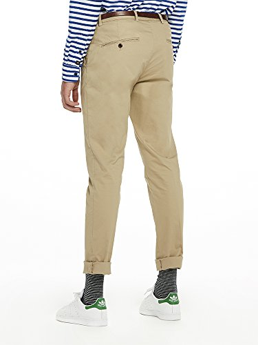 stretch sand Baumwollechinos Homme Fit Slim 0137 Scotch amp; Marron Soda Mott Pantalon Super qwcPtOZ