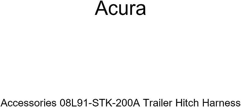 Genuine Acura Accessories 08L91-STX-200A Trailer Hitch Harness