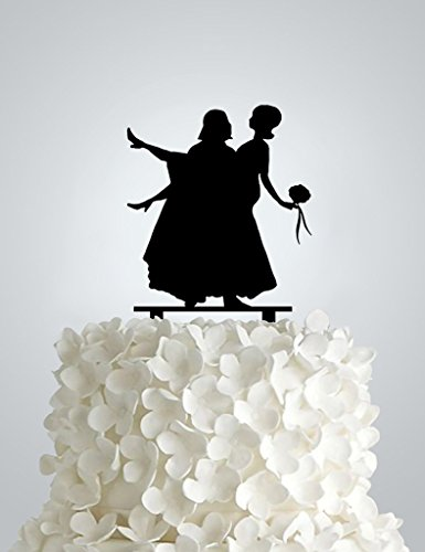 Star War Wedding Cake Topper Inspired By Star Wars Amazon