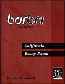 barbri essay book 2016-2017 barbri multistate essay exam test- (meet) this book is  used in the ube book set (uniform bar exam) which is currently given in 27  states.