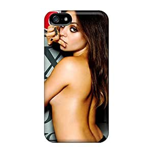 Iphone 5/5s Dgv5816VsbN Mila Kunis Esquire Cover Tpu Silicone Gel Case Cover. Fits Iphone 5/5s