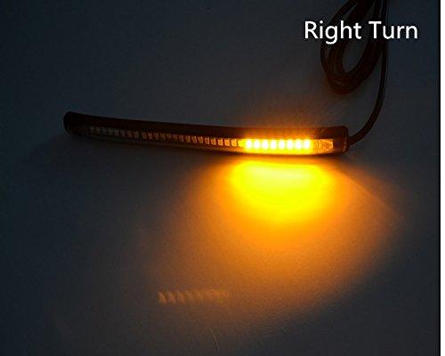 LED Flexible Turn Singal Brake Strip Light and Running Tail Light