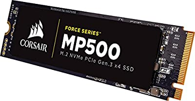 Corsair Force MP500 Series M.2 SSD 240GB Internal Drive (CSSD-F240GBMP500) by Corsair Memory Only