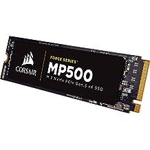 Corsair Force MP500 Series M.2 SSD 120GB Internal Drive (CSSD-F120GBMP500)
