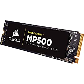 Corsair force series mp500 480gb nvme pcie gen3 x4 m. 2 ssd solid state storage, up to 3,000mb/s 1 the corsair nvme pcie boosts bandwidth, allowing you to access all of your data, load files and launch games with speeds up to 4x faster than the sata 3. 0 corsair nvme m. 2 ssds enable a new level of performance in a compact form-factor additional error bit correction and improved data retention, while supporting the latest generation nand