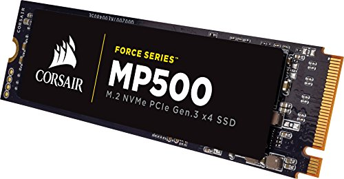Corsair Force MP500 Series M.2 SSD 120GB Internal Drive (CSSD-F120GBMP500)