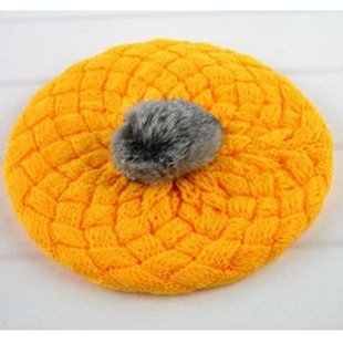 HHM baby-korean bébé Boule de fourrure de lapin chapeau béret pour bébé  Glace Crème Ananas Chapeau Bonnet Laine Casquette de enfants, jaune   Amazon.fr  ... 65cf6b9ccf8