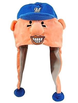 MLB Milwaukee Brewers Thematic Mascot Dangle Hat- Sausage #4, Hot Dog