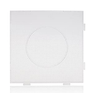 ARTKAL Beads 2.6mm Mini Pegboard Large Square Pegboard Interlocking Design BCP01 (NOT FOR MIDI BEADS, FOR mini BEADS ONLY)