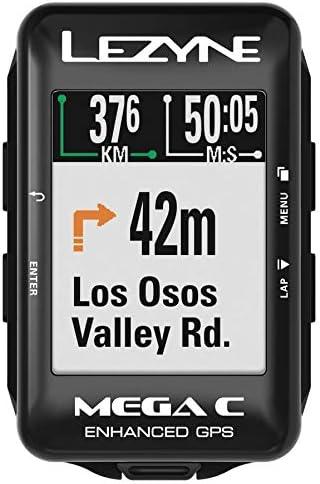 Lezyne Mega C Bicicletta Nero localizzatore GPS