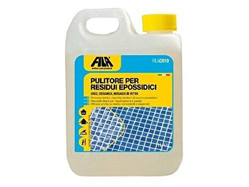 Pulitore Per Residui Epossidici Fila CR10 Detergente Liquido