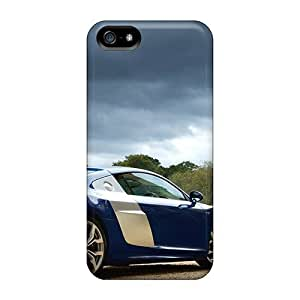 Iphone 5/5s Case Cover - Slim Fit Tpu Protector Shock Absorbent Case (cloudy Sky R)
