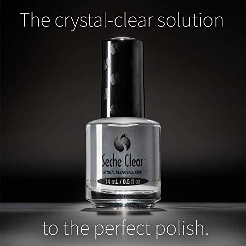 Seche Clear and Seche Vite, Base Coat and Top Coat for Nail Polish