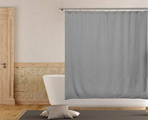 Home Maison Danella Shower Curtain, 72 X 72, Grey - Maison Grey Rug