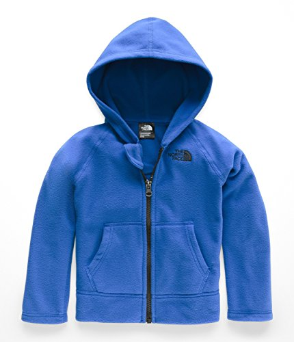 The North Face Todd Glacier Full Zip Hoodie - Turkish Sea & TNF Black - 3T