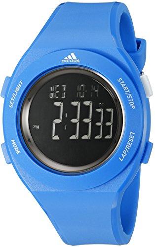 adidas Unisex ADP3208 Sprung Digital Display Analog Quartz Blue Watch - Adidas Watches For Men