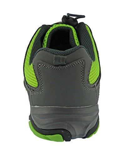Rockin Footwear Mens Amphibious Athletic Hiking Swimming Water Shoe Aqua Sneaker, Green, 11 D(M) (Footwear Men)