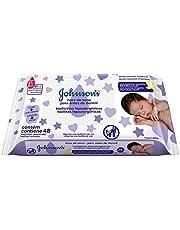 Lenços Umedecidos Johnson's Baby Hora do Sono, 48 unidades