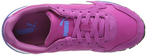 Puma ST Runner NL Jr Unisex-Kinder Sneakers Pink (meadow mauve-white-marina blue 07)