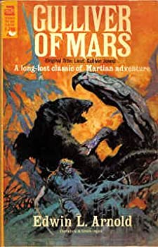 Gulliver of Mars by Edwin L. Arnold fantasy book reviews