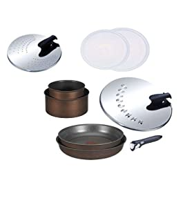 Tefal Ingenio L3759802 Cooking Pan Set 9-Piece Non-Stick